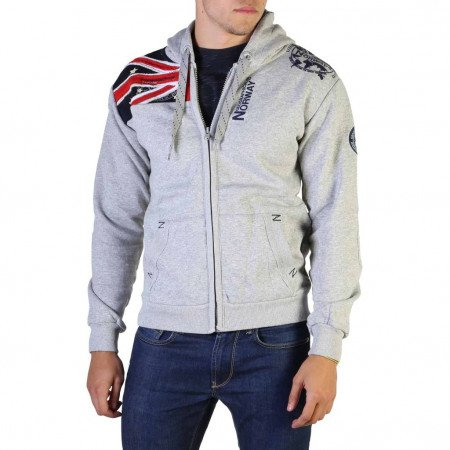 Hanorac barbati Geographical Norway, GATSBY100_MAN, Gri