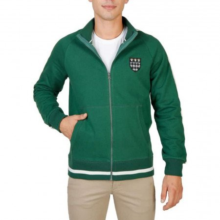 Hanorac barbati Oxford University, MAGDALEN-FULLZIP, Verde