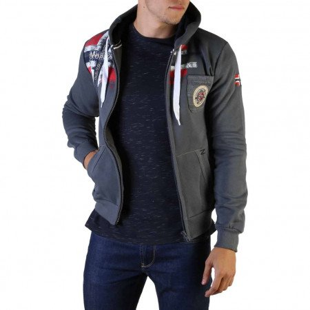 Hanorac barbati Geographical Norway, FESPOTE100_MAN, Gri