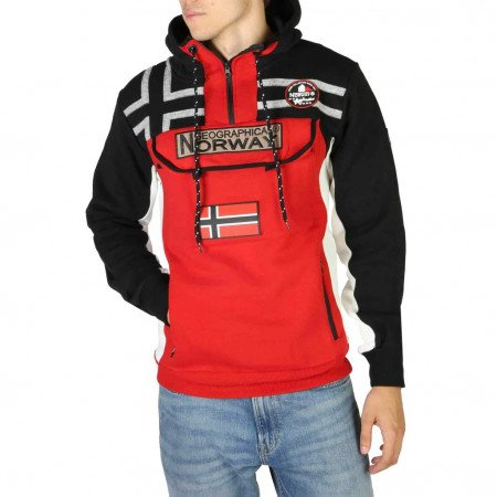 Hanorac barbati Geographical Norway, FITAKOL_MAN, Negru