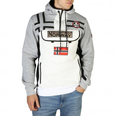 Hanorac barbati Geographical Norway, FITAKOL_MAN, Gri