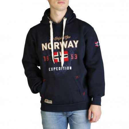 Hanorac barbati Geographical Norway, GUITRE100_MAN, Albastru