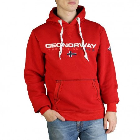 Hanorac barbati Geographical Norway, GOLIVIER_MAN, Rosu