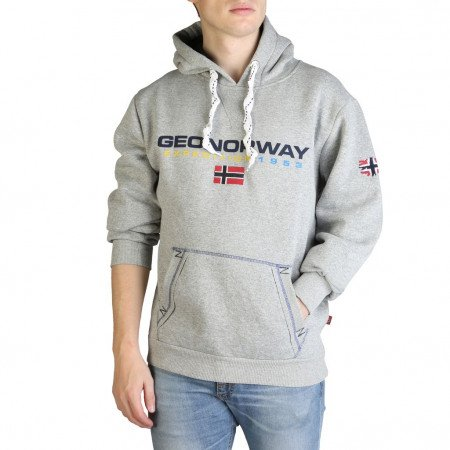 Hanorac barbati Geographical Norway, GOLIVIER_MAN, Gri